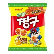 Samgyang Chang Gu - Honey Dipped Snack 4.06oz(115g), 삼양 짱구 4.06oz(115g)