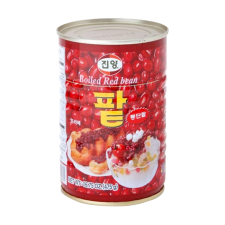 Jinyang Boiled Sweet Red Bean 16.75oz(475g), 진양 팥 통조림 16.75oz(475g)