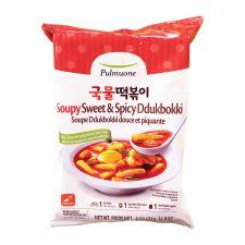 Pulmuone Soupy Sweet & Spicy Ddukbokki 14.9oz(424g), 풀무원 국물 떡볶이 14.9oz(424g)