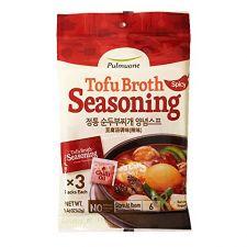 Tofu Broth Soup Seasoning Original Spicy Flavor 1.48oz(42g)