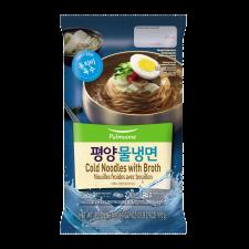 Pulmuone Cold Noodles with Broth 34.9oz(990g), 풀무원 평양물냉면 34.9oz(990g)