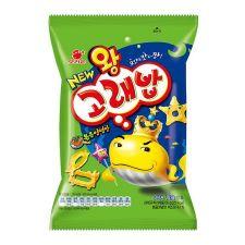 Orion Wang Seasoned Goraebab 1.97oz(56g), 오리온 왕고래밥 볶음양념맛 1.97oz(56g)
