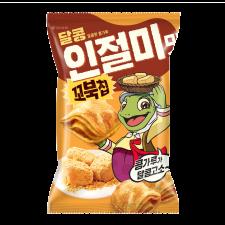 Turtle Chips Injulmi Flavor Big Size 4.79oz(136g), 꼬북칩 인절미맛 빅사이즈 4.79oz(136g)
