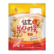 CJ Samho Assorted Frozen Fried Fish Cake 30.05oz(852g), CJ 삼호 부산어묵 종합 30.05oz(852g)