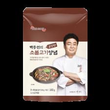 TheBorn Paik Cook BBQ(Bulgogi) Sauce 5.64oz(160g), 더본 백종원의 초간단 소불고기 양념 5.64oz(160g)