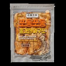 Ohchun Roasted Dried Monkfish Meat 5.99oz(170g), 오천산업 쫄깃한 아구포 5.99oz(170g)