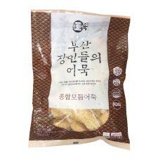 Hwangong Fish Bakery Fried Fish Cake Assorted 2.01lb(915g), 환공어묵 부산 장인들의 어묵 종합 모듬어묵 2.01lb(915g)