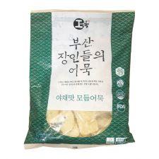 Hwangong Fish Bakery Fried Fish Cake Vegetable 1.8lb(820g), 환공어묵 부산 장인들의 어묵 야채맛 모듬어묵 1.8lb(820g)