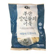 Hwangong Fish Bakery Fried Fish Cake Seafood 1.83lb(830g), 환공어묵 부산 장인들의 어묵 해물맛 모듬어묵 1.83lb(830g)