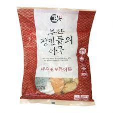 Hwangong Fish Bakery Fried Fish Cake Spicy 1.85lb(840g), 환공어묵 부산 장인들의 어묵 매운맛 모듬어묵 1.85lb(840g)