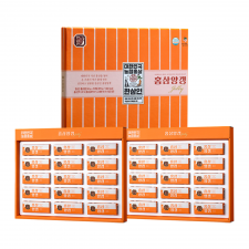 Korean Red Ginseng Bean Jelly 1.58oz(45g) 15 Pcs 1+1 Set