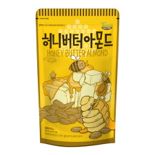 Gilim Honey Butter Almond 8.81oz(250g), 길림 탐스팜 허니버터 아몬드 8.81oz(210g)