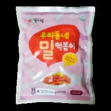 HS Wheat Toppoki 1.1lb(500g), 황소식품 우리동네 밀떡볶이 1.1lb(500g), HS Wheat Toppoki 1.1lb(500g)