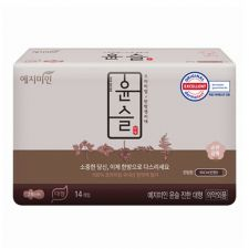 Yejimiin Silk Touch Cotton Sanitary Pads Rich L 14 Pcs, 예지미인  윤슬 진한 대형 14개입, 礼知美人 Silk Touch Cotton Sanitary Pads Rich L 14 Pcs