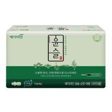 Yejimiin Silk Touch Cotton Sanitary Pads Mild L 14 Pcs, 예지미인 윤슬 순한 대형14개입