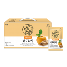 Erom Pear & Balloon Flower Root Juice 71 fl.oz(2100ml) 30 pouches, 이롬 배도라지 71 fl.oz(2100ml) 30포
