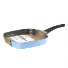 Hello Home Eco-Tech Ceramic Coating Square Pan 10.62in(27cm), 헬로홈 에코텍 사각 후라이팬 10.62in(27cm)