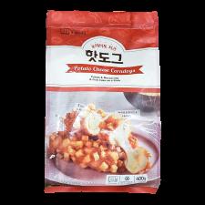Kikeni Potato Mozzarella Corndogs 4 Pcs 14.11oz(400g), 키큰아이 포테이토 모짜렐라 통치즈 핫도그 4개입 14.11oz(400g)