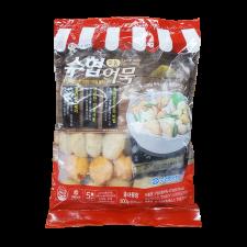 Suhyub Assorted Fish Cake 17.64oz(500g), 수협 모둠어묵 17.64oz(500g)