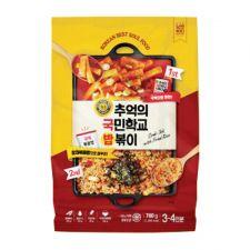 NangMan Brother Korean Toppoki with Fried Rice 27.51oz(780g), 낭만브라더 추억의 국민학교 밥볶이 27.51oz(780g)