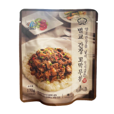 Kkomasi Frozen Beolgyo Cockle With Soy Sauce 6oz(170g), 꼬마시 벌교 간장 꼬막 무침 6oz(170g)