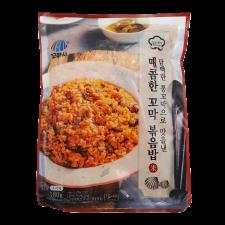 Kkomasi Frozen Beolgyo Hot Cockle With Fried Rice 6.35oz(180g), 꼬마시 벌교 매콤한 꼬막 볶음밥 6.35oz(180g)