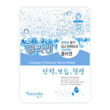 Natureby Collagen Essense Sheet Mask 0.81oz(23g), 네이쳐바이 콜라겐 마스크팩  0.81oz(23g)