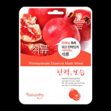 Natureby Pomegranate Essense Sheet Mask 0.81oz(23g), 네이쳐바이 석류 마스크팩 0.81oz(23g)