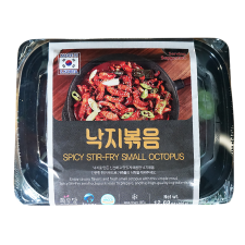 Hwaudang Spicy Stir-Fry Octopus 12oz(360g), 화우당 낙지볶음 12oz(360g)