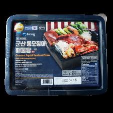 Hwaudang Gunsan Squid Seafood Stew + Sauce 42.3oz(1.2kg), 화우당 군산 통오징어 해물탕 + 소스 42.3oz(1.2kg)