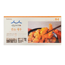 JJ Fresheasy Chilli Shrimp 17.28oz(489g), 진지 프레시지 백년가게 깐쇼 새우 17.28oz(489g), JJ Fresheasy Chilli Shrimp 17.28oz(489g)