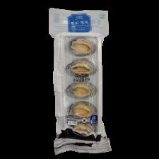 Boiled Abalone Shell-on 5 Pcs 6oz (170g), 자숙 냉동 완도 전복 5개 6oz (170g)