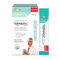 Erom Wholefood Vitamin C 2.12oz(60g) 30 stick, 이롬 착한비타민 C 2.12oz(60g) 30포