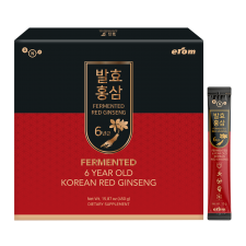 Erom Fermented Korean Red Ginseng 15.87oz(450g) 30 packets, 이롬 6년근 발효홍삼 15.87oz(450g, 30포)