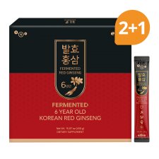 Erom Fermented Korean Red Ginseng 15.87 oz(450g) 30 packets (Set of 3), 이롬 6년근 발효홍삼 15.87oz(450g, 30포) (Set of 3)