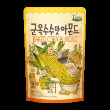 Gilim Baked Corn Almond 7.4oz(210g), 길림 탐스팜 군옥수수맛 아몬드 7.4oz(210g)