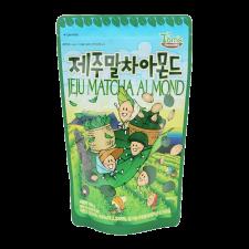 Gilim Tom's Farm Jeju Matcha Almond 6.7oz(190g), 길림 탐스팜 제주말차 아몬드 6.7oz(190g)