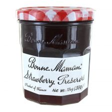 Bonne Maman Strawberry Preserves 13oz(370g), 본 마만 딸기잼 13oz(370g), Bonne Maman 草莓果醬 13oz(370g)