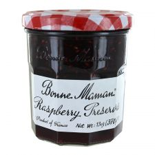 Bonne Maman Raspberry Preserves 13oz(370g), 본 마만 라즈베리잼 13oz(370g), Bonne Maman 樹莓果醬 13oz(370g)