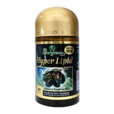 Evergreen Hyper Lipid 1000mg 60 Caps, 에버그린 하이퍼 리피드(녹색 홍합) 1000mg 60정, Evergreen  超貽脂膠囊 1000mg 60粒