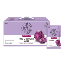EROM Red Cabbage Juice 2.36 fl.oz(70ml) 30 Pouches (Set of 2), 이롬 적양배추 2.36 fl.oz(70ml) 30포 (Set of 2)
