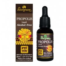 Evergreen Propolis Liquid (Alcohol Free) 1.05 fl.oz(30ml), 에버그린 프로폴리스 리퀴드 (알코올 프리) 1.05oz(30ml), Evergreen 蜂膠精華滴劑(不含酒精)1.05 fl.oz(30ml)