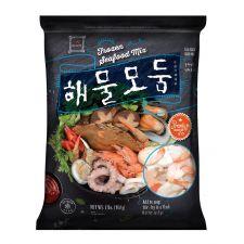 Haioreum Frozen Seafood Mix 2lb(908g), 해오름 해물모둠 2lb(908g)