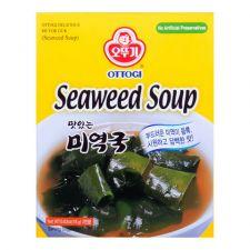 Ottogi Seaweed Soup 0.63oz(18g), 오뚜기 맛있는 미역국  0.63oz(18g)