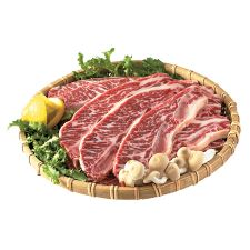 Certified Angus Beef Sliced Short Ribs (LA Style) 2lb(8~10 pieces),CAB (Certified Angus Beef) 앵거스 LA갈비 2lb(8~10 pieces)