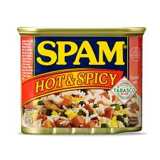 Hormel Spam Hot & Spicy 12oz(340g), 호멜 스팸 핫 & 스파이시 12oz(340g)