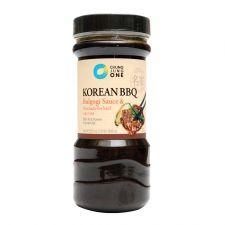 Chung Jung One Korean BBQ Bulgogi Sauce 1.85lb(840g), 청정원 소불고기 양념 1.85lb(840g), 淸淨園 Korean BBQ Bulgogi Sauce 1.85lb(840g)