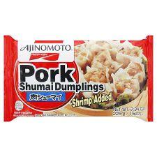 Ajinomoto Pork Shumai Dumplings (Shrimp Added) 7.94oz(225g), 아지노모토 돼지고기 슈마이 (새우첨가) 7.94oz(225g)
