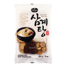 Choripdong Ginseng Chicken Soup (Samgyetang) Preparation 10oz(284g), 초립동이 삼계탕 재료 10oz(284g)