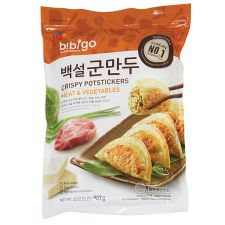 CJ Bibigo Crispy Potstickers Meat & Vegetable 32oz(907g), 씨제이 비비고 백설 군만두 32oz(907g)